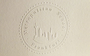 Druckerei Frankfurt – Veredeln & stanzen