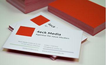 Druckerei Frankfurt – Visitenkarten
